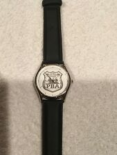 Vintage Tomax NYPD New York Police Department PBA Watch Must See