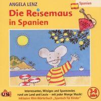 ANGELA LENZ - DIE REISEMAUS IN SPANIEN  CD NEU