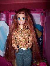 Glitter hair barbie, colección, juguetes, muñeca
