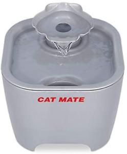 Cat Mate Shell Pet Water Fountain 3L Titanium