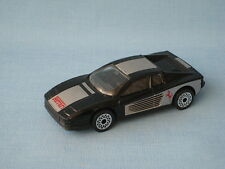 Matchbox Ferrari Testarossa Black Body Superfast Wheels Toy Model Car UB