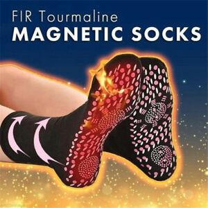 1/3Pairs Men Women Socks Self Heating Warm Tourmaline Socks Pain Relief Socks UK