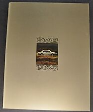 1985 Saab Sales Brochure Folder 900 900 S Turbo Excellent Original 85