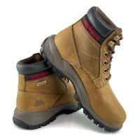 """CAT Caterpillar Women's Dryverse 6"""" Waterproof Beige Work Boots Shoes P74066 WP"""