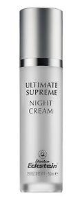 Ultimate Supreme Night Cream 50 ML Luxury Care From Dr.Eckstein Biokosmetik