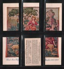 Tobacco cards set Cigarette cards Tapestry of famous Painting Puzzle set