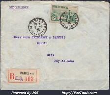 FRANCE N° 301 SEUL SUR LETTRE RECOMMANDEE POUR GIAT DE PARIS DU 03/06/1935