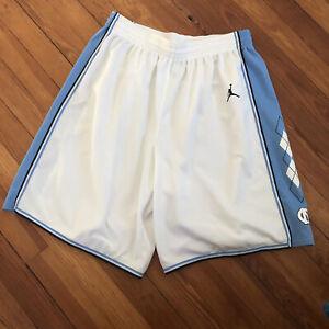 Nike Air Jordan North Carolina Tar Heels Authentic Swoosh Game Shorts - L