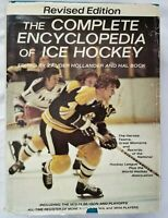 Ice Hockey The Complete Encyclopedia Heroes Teams Great Moments Hardcover 1974