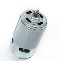 RS-550 Electric Motor 12-24V 5800RPM For Torque Drill Robot Electric Round Shaft