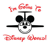 I'm Going To Disney World shirt family vacation airplane Mickey Mouse Minnie