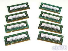 lot 8 mémoire SODIMM 512MO HYNIX (8X512MO) DDR2 PC2-4200 533MHZ 200PIN