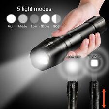 G700 X800 XML T6 Linterna LED 5000LM linterna LED Alta Potencia Police Armada UK