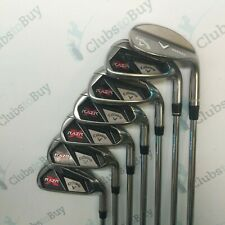 Callaway RAZR X Irons Mens Right Hand 5 - SW Uniflex Steel Shaft