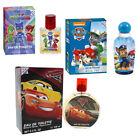 Paw Patrol Eau de Toilette 100ml Disney Cars EDT 100ml Pjmasks EDT 30ml Coffret