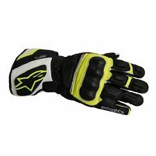 Alpinestars SP-Z Drystar Gloves - Black White Fluo (L)