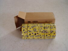 3M Scotch Expressions Washi Tape, Gold Flowers, 15mm x 10m, Box of 6 rolls, New