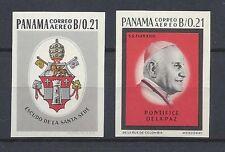 PANAMA 1964 Papa Giovanni XXIII ND congiunta VATICANO MNH**