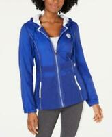 Tommy Hilfiger Women's Sport Hooded Jacket Blue Size XS