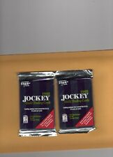 1992 Jockey Guild Trading Cards 2 Sealed Packs-each pack of 12 cards