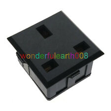 (1 PC) UK Type G Outlet AC Power Socket Panel Receptacle Max AC250V 13A