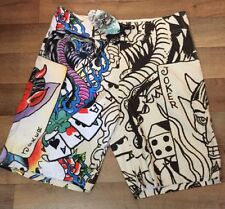 Ed Hardy Mens Size 36 Board Shorts Christian Audigier NWT