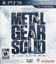 Metal Gear Solid The Legacy Collection PS3 Game BRAND NEW SEALED