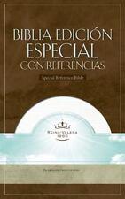 RVR 1960 Biblia con Referencias, blanco piel fabricada Spanish Edition