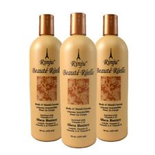 Rinju Beaute Reelle Body & Hand Cream 16 oz /473 ml Pack of 3