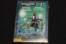 Warhammer 40k eldar harlequins troupe bnib new oop dark WH40K finecast squad oop