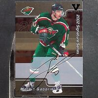 MARIAN GABORIK  2002-03 BAP Signature Series Autograph Buybacks 2001 #84  Kings
