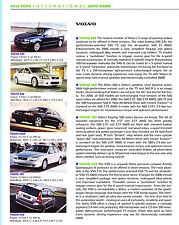 2006 Volvo S40 S60 S80 V50  Original Car Review Print Article J347