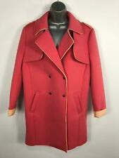WOMENS ATMOSPHERE PRIMARK SALMON PINK COAT POPPERS SIZE 12