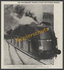 100 Jahre Dt. Reichsbahn Stromlinien-Lok BR 05 001 Borsig Hennigsdorf Berlin ´35