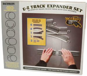 Bachmann-Expander Set - E-Z Track(R) -- Nickel-Silver Rail & Gray Roadbed - HO
