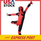 Kids Child Boy Girl Deadpool Costume Zentai Superhero Halloween Bodysuit Outfit