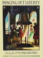 "*Postcard-""Ringing Out Liberty"" -July 8, 1776/Philidelphia   (XT56)"