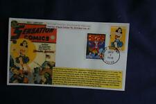 Wonder Woman Golden Age 47c Forever Stamp Combo Fdc Bullfrog Sc#5152 11828 W/Can