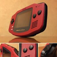Nintendo Game Boy Advance GBA Red System AGS 101 Brighter Backlit Mod MINT