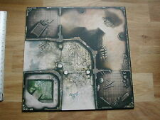 1 DOUBLE SIDED GAME TILE 7V/7R /ZOMBICIDE BLACK PLAGUE