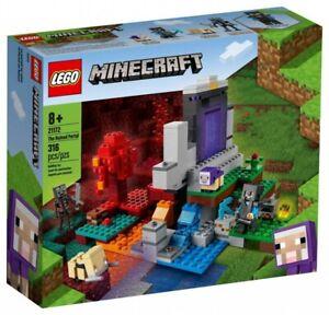 LEGO MINECRAFT 21172 The Ruined Portal Building Kit 316 Pcs