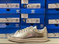 adidas STAN SMITH Sneakers Metallic Silver/White Space Tech FW5363 ALL SIZES NEW