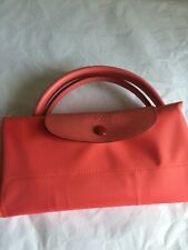 Longchamp Le Pliage LARGE Travel  in Pomegranate New tags 100% AUTHENTIC