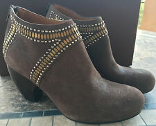 NIB/NEW Calleen Cordero Sombra Ankle Boots Shoes Suede Brown 11 ret'l $568