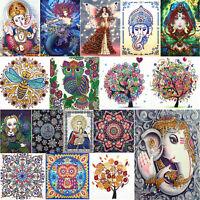 5D DIY Special Shaped Diamond Painting Cross Stitch Craft Kits Art Home Decor