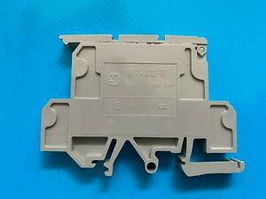 ALLEN BRADLEY: 1492-JD3FB series A : 2.5mm DOUBLE LEVEL FUSE BLOCK ( Box of 25)