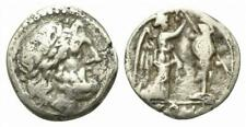 LAC ROME REPUBLIC Anonymous AR Victoriatus. R/ Victory crowning trophy N30