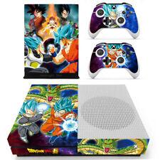 Xbox one S X Dragon Ball Z Goku Vegeta Skin Decal Sticker for Console Remote