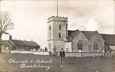 Owslebury near Twyford & Winchester. Church & School.