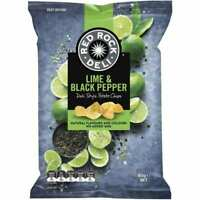 Red Rock Deli Lime & Black Pepper 165g X 12 UNITS